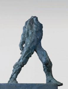 Kroczący / Striding 1975, brąz / bronze, 100×60×40 cm