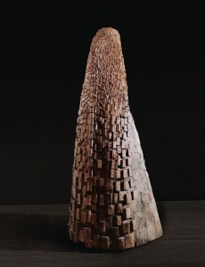 Tors VIII / Torso VIII z cyklu ?Torsy? / from the series Torsos, 1998, drewno / wood, 175×80×60 cm