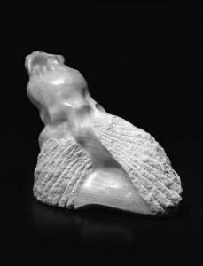 Postać kamienna III / Stone Form III 1979, marmur / marble, 50×50×40 cm