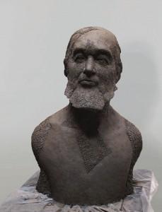 Krzysztof Karasek 2009, sztuczny kamień / synthetic stone, 100×65×50 cm