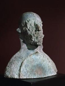 Jacek Malczewski 1983, brąz / bronze, 80×50×40 cm
