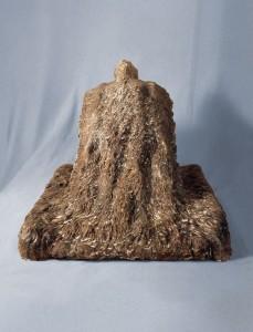 Trawy / Grass 1979, gips / plaster 40×45×50 cm