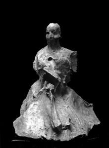 Motyw japoński II / Japanese Theme II 1984, brąz / bronze, 50×40×35 cm