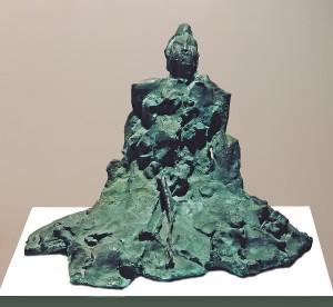 Motyw japoński III / Japanese Theme III 1985, brąz / bronze 50×60×40 cm