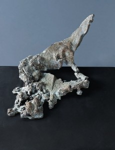 Koń VI / Horse VI z cyklu ?Cienie? /from the series Shadows, 2011, brąz / bronze, 25×30×30 cm