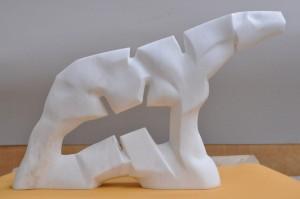 Koń-XI-z-cyklu-Cienie-Marmur-45x55x17-cm-2015